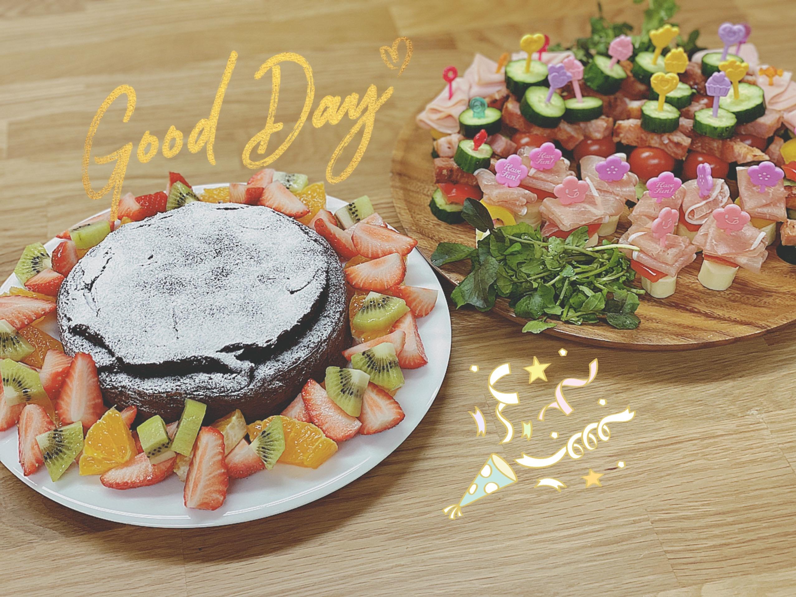 オンライン料理教室 (クリスマス・バレンタイン)